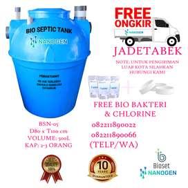 septic tank bioset, NANOGEN ramah lingkungan