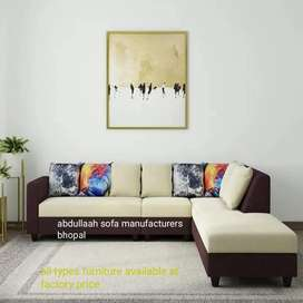 Newly made  corner sofa set direct from factory at reasonable price