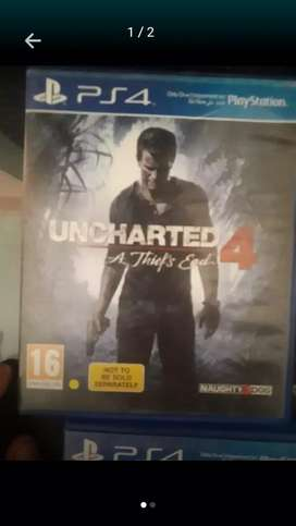Uncharted 4 ps4 CD