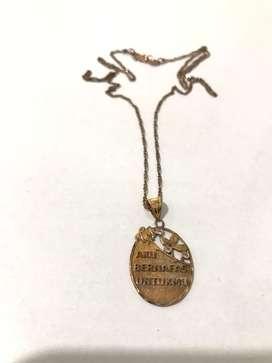 kalung emas kenangan peterpan