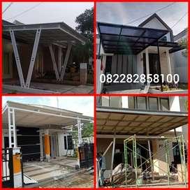 Kanopi atap alkan/polycarbonate/alderon 015