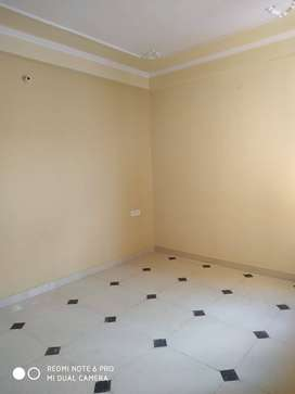 3 BHK semi furnished flats.