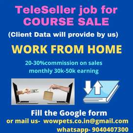 Tele Saller Require for COURSE SALES