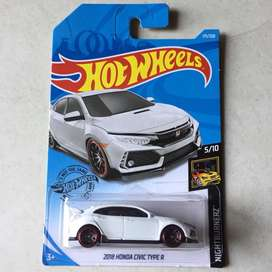 Hot wheels / hotwheels Honda Civic Type R White Putih