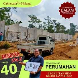 Tanah Di Perumahan subsidi MALANG cocok utk investasi view ciamik