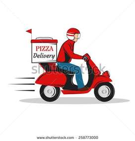 Delivery Boy and Helper for Restaurant