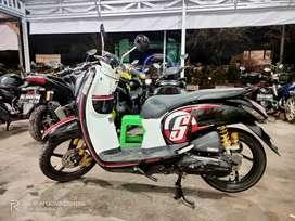 Scoopy 2016 Hitam DiDjaya Motor S Parman