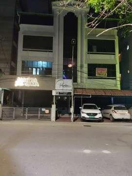 Panampilly Nagar 750 sqft at ground floor, 1500 sqft at 2nd, 4th floor