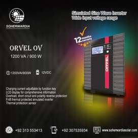 ORVEL 1200 VA and 2400 VA Off Grid Solar Inverter. Available At Best