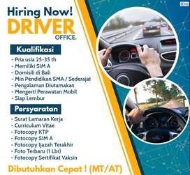 Info Lowongan Kerja Driver Office