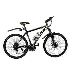 Cosmic Trooper Disc Brake Special 21-Speed MTB Bicycle (Green)