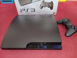 PlayStation 3 with 250GB hard drive with games installed