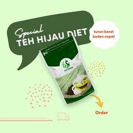 Teh Hijau Premium   Teh Hijau Cegah Kolesterol   Original Green Tea