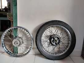 Royal Enfield Classic 350 - ABS Front and Back tyre rim - Original 20