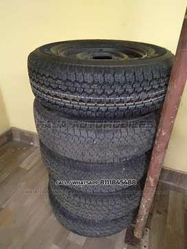 Mahindra Thar Fresh Tyres & Wheels
