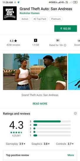 GTA Sanandreas full game Android