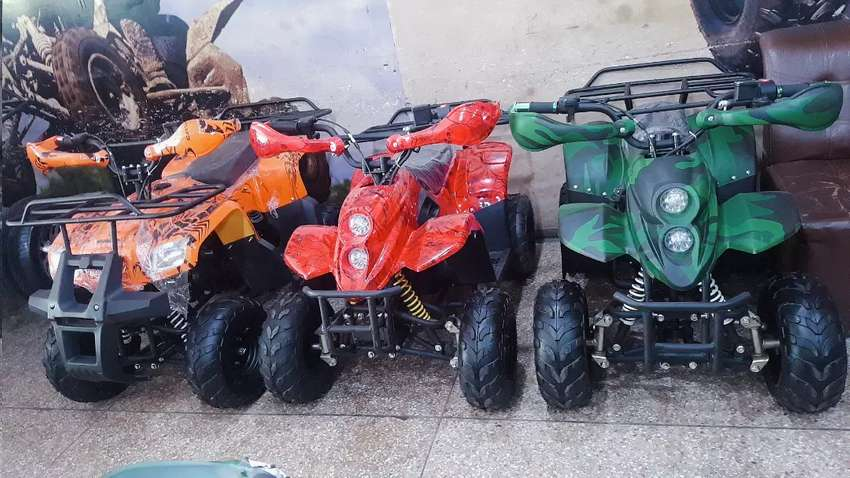SMALL SIZE 6 kids Quad ATV BIKE for sell deliver all pak 0