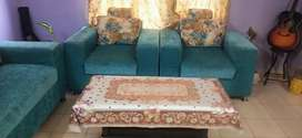 5 Seater Sofa With Center Table