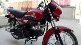 Honda Pridor 2013 bike for sale - just like new