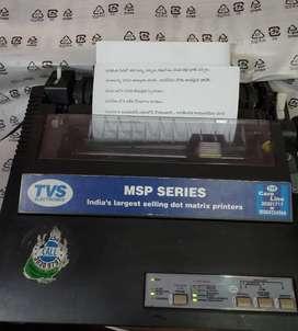 TVS MSP 450 Champion Dot Matrix Printer