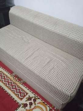 Double sofacam bed for sell condition 10/9