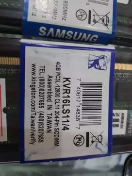 RAM laptop 4Gb DDR3L kingstone
