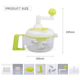 Vegetable chopper with handle