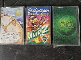 3 cassette Gigi, Padi, PadhyanganProject,