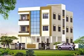 2bhk ground floor flat at kharkar layout