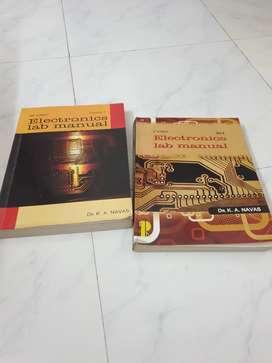 Electronics Lab Manual (volume 1,2) by K.A.Navas