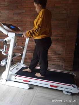 Termurah auto incline treadmill elektrik hanatha 4 fungsi