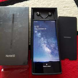Galaxy note 10 black 256 sein