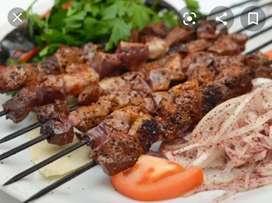 Need kebab Shawarma grill master