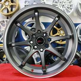 Jual velg racing HSR Ring 16 Buat mobil Brio, agya, ayla, sigra,avanza