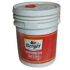 BERGER 20 LITER PLASTIC PAINT
