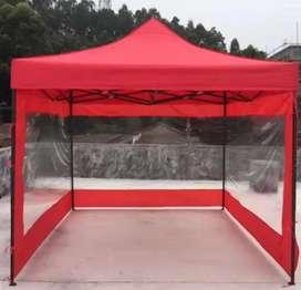 Dijual Tenda 3x3 Lipat Matic dengan dinding Tembus Pandang