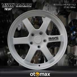 Velg Mobil Rays TE37 (CT1081) Ring 17 White