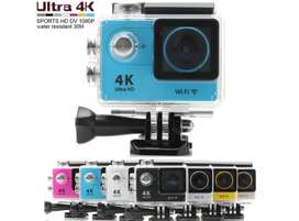 Sport Cam 4k Action Camera Wifi Ultra 16mp Full Hd 1080 P