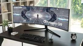 Samsung Odyssey G9 49-Inch Curved QLED Ultrawide Gaming Monitor