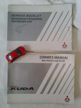 Mitsubishi Kuda 2000 - Buku Petunjuk Pemilik dan Service Booklet