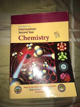 Chemistry inter second year textbook