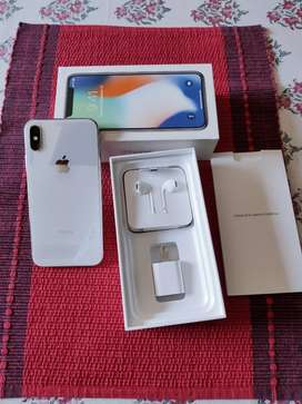IPHONE X 256 GB WHITE COLOR SUPERB CONDITION
