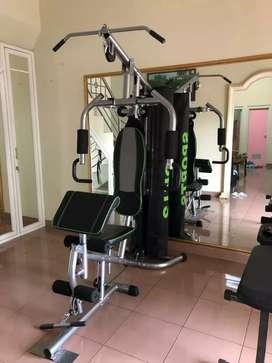 Home gym 1 sisi merk fitclass( besi kokoh dan bergaransi)
