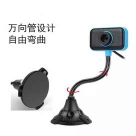 A4 Webcam 480p Full HD Stand Web Camera PC Komputer Laptop Zoom Video
