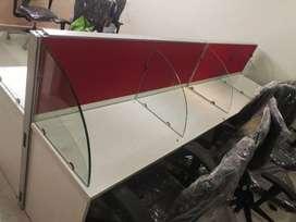 open desk work station