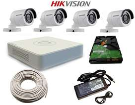 Hikvision NightVision HD CCTV Camera SET