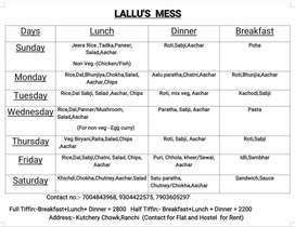 LALLU'S MESS