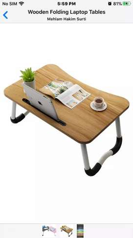 Wooden Laptop Tablet Mobile Table