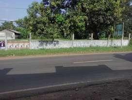 Tanah Strategis Untuk Gudang Pinggir Jalan Raya Pagaden