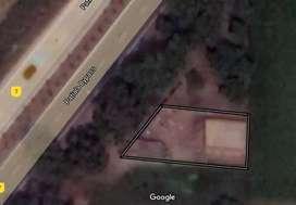 450 gaz Plot for farm house on main highway near  urban estate patiala